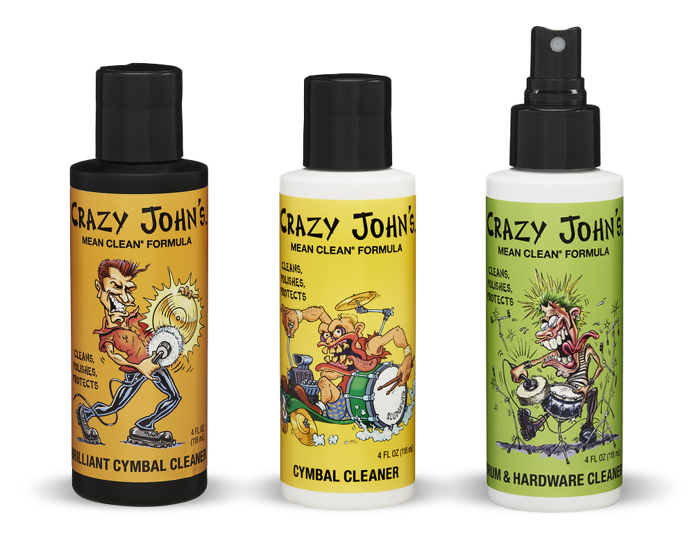 Crazy John's alle tre modeller - Drum Squad